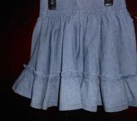 Джинсовая юбка на 4 года,пышная,пояс резинка,в отличном состоянии замеры: длина. Киев, Киевская область. фото 3