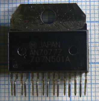 Микросхема AN7077Z представляет собой мультимедиа преобразователь, который предн. Одесса, Одесская область. фото 2