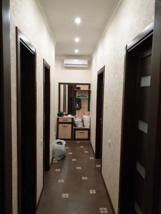 Сдам 2 комнатную квартиру в Кадоре на Архитекторской. 10-й этаж. Просторная кух. Киевский, Одесса, Одесская область. фото 4