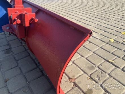 Лопата отвал для мотоблока Булат (1 м, для мотоблоков с воздушным и водяным охла. Киев, Киевская область. фото 1