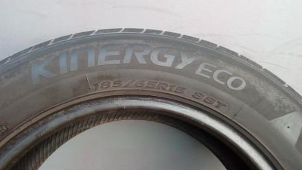 Летние шины 185/65 R15 Hankook Kinergy Eco,  4 шт. Очень мягкие и экономные. Про. Киев, Киевская область. фото 7