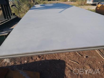 Нержавеющий лист 15,5х1800х5500 мм  6шт, поверхность матовая. Днепр, Днепропетровская область. фото 1
