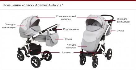 Коляска в хорошем состоянии, после одного ребёнка,  Adamex Avila относится к м. Одесса, Одесская область. фото 10