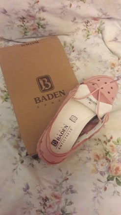Туфли женские летние спортивные розовые на шнурках. Лёгкие. Кожаные. 41 размер.. Херсон, Херсонская область. фото 6