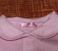 Мягенькая кофточка, в хорошем состоянии.Нежно-нежно розового цвете. Очень удобна. Запорожье, Запорожская область. фото 4