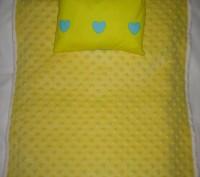 ОТЛИЧНЫЙ ПОДАРОК !!! Комплект постели для кукольной кроватки и колясочки. Матер. Винница, Винницкая область. фото 6