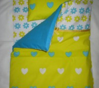 ОТЛИЧНЫЙ ПОДАРОК !!! Комплект постели для кукольной кроватки и колясочки. Матер. Винница, Винницкая область. фото 5