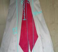 Утонченное атласное платье подойдет как для выпускного ,так и для любого торжест. Светловодск, Кировоградская область. фото 4