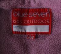 Деми куртка Blue seven kids с капюшоном на девочку, р.104. Цвет - розовый. Под. Киев, Киевская область. фото 8