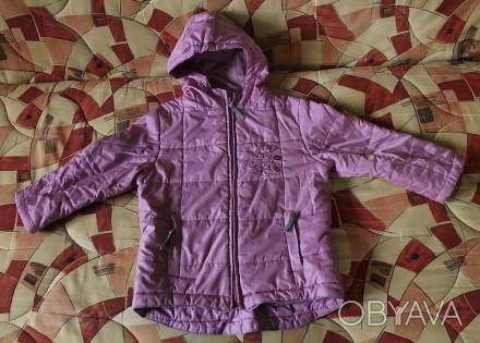 Деми куртка Blue seven kids с капюшоном на девочку, р.104. Цвет - розовый. Под. Киев, Киевская область. фото 1