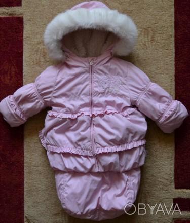 Очень удобный комплект! Если ребенок родился в холодную пору года, можно использ. Винница, Винницкая область. фото 1