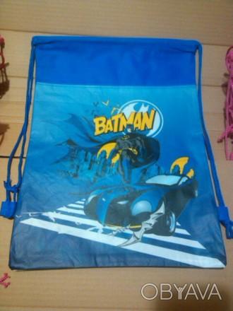 Новый детский рюкзак Бетман. Размер: высота 36,ширина 28 см. Все фото реальны и . Киев, Киевская область. фото 1