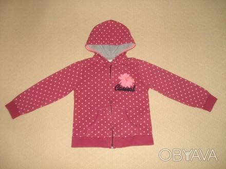 Курточка Zara Girls на девочку 7-8 лет Возраст: 7-8 лет, рост: 128 см. Произво. Херсон, Херсонская область. фото 1