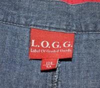 Красивая джинсовая юбочка на запах L.O.G.G. - Label Of Graded Goods.   Слегка . Киев, Киевская область. фото 10
