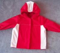 Куртка с капюшоном демисезонная на флисе-Hand made. Светловодск. фото 1