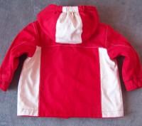 Куртка с капюшоном демисезонная на флисе-Hand made.Верхняя ткань-плотная,но не ж. Светловодск, Кировоградская область. фото 3