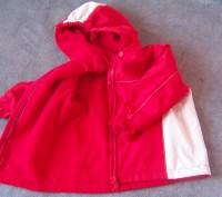Куртка с капюшоном демисезонная на флисе-Hand made.Верхняя ткань-плотная,но не ж. Светловодск, Кировоградская область. фото 5