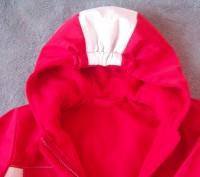 Куртка с капюшоном демисезонная на флисе-Hand made.Верхняя ткань-плотная,но не ж. Светловодск, Кировоградская область. фото 6