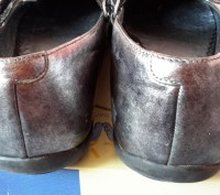 """Кожаные туфли ,балетки""""Bartek"""",Польша,37 размер.Цвет серебристый.Все нюансы на ф. Светловодск, Кировоградская область. фото 9"""