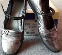 Кожаные туфли ,балетки