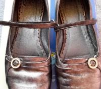 """Кожаные туфли ,балетки""""Bartek"""",Польша,37 размер.Цвет серебристый.Все нюансы на ф. Светловодск, Кировоградская область. фото 3"""