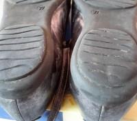 """Кожаные туфли ,балетки""""Bartek"""",Польша,37 размер.Цвет серебристый.Все нюансы на ф. Светловодск, Кировоградская область. фото 11"""