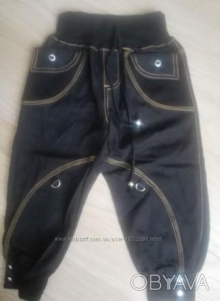 Модель Ш-111. Тонкие штанишки на мягкой резинке + шнур.  Внизу штаны на манжете,. Киев, Киевская область. фото 1
