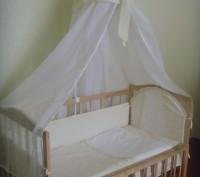 Постельный комплект в кроватку. Винница. фото 1