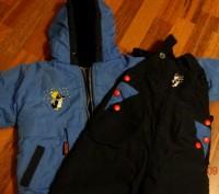 Продается зимний комбинезон с курточкой. на 1,5-2 года Курточка-длина по спинке. Винница, Винницкая область. фото 2