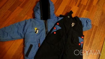 Продается зимний комбинезон с курточкой. на 1,5-2 года Курточка-длина по спинке. Винница, Винницкая область. фото 1