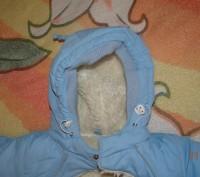 Продается детский зимний конверт на овчинке с рукавичками в идеальном состоянии.. Винница, Винницкая область. фото 5