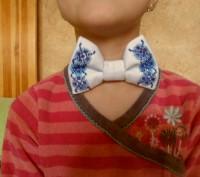галстук-бабочка вышитый бисером.подойдет для любого торжественного события, смот. Вінниця, Винницкая область. фото 4