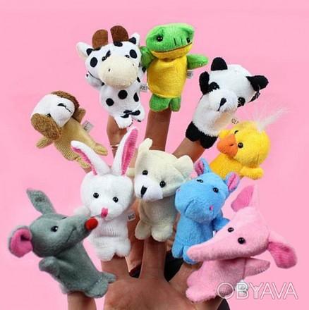 Детский кукольный театр на пыльцы руки из 10 различных животных!. Винница, Винницкая область. фото 1