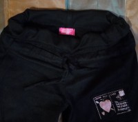 Теплые брюки черного цвета в хорошем состоянии на девочку-подростка или на хрупк. Сумы, Сумская область. фото 3