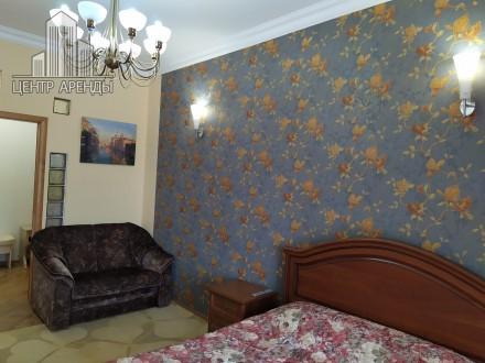 Сдам 2-комнатную на Пушкинской/Жуковского. Дорогой качественный ремонт, мебель, . Приморский, Одесса, Одесская область. фото 4