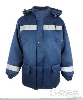 Курточка рабочая со светоотражающими полосами