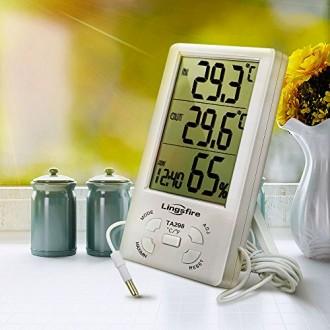 Термометр-гигрометр с внешним датчиком температуры TA298 предназначен для измере. Днепр, Днепропетровская область. фото 3