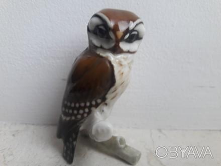 Фарфоровая статуэтка Сова, Hutschenreuther, Германия