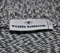 Коттоновый спортивный свитер Tom Tailor из Англии. Размер XL. Отложной воротник. Запорожье, Запорожская область. фото 4
