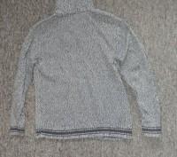 Коттоновый спортивный свитер Tom Tailor из Англии. Размер XL. Отложной воротник. Запорожье, Запорожская область. фото 3