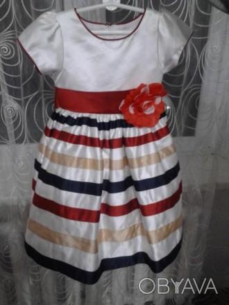 Срочно!!! Продам нарядное платье для девочки 3-х лет. В отличном состоянии. Очен. Винница, Винницкая область. фото 1