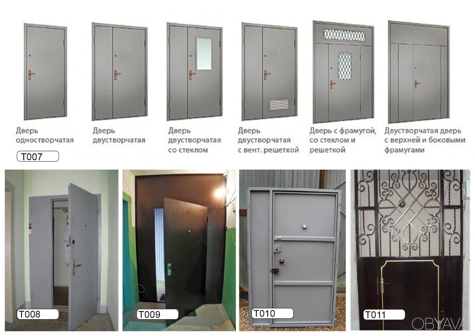 заказать металлические тамбурные дверь