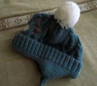 Продам теплую зимнюю шапочку. Вязаная, подкладка - флис. Подойдет для деток с р. Бровары, Киевская область. фото 4