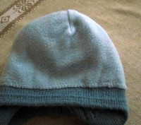 Продам теплую зимнюю шапочку. Вязаная, подкладка - флис. Подойдет для деток с р. Бровары, Киевская область. фото 5