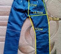 Стильные джинсы от известной фирмы George. Состояние отличное, дефектов нет, фур. Бровары, Киевская область. фото 11
