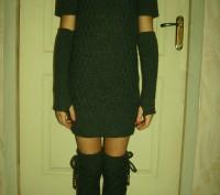 Платье тёплое. Горишные Плавни. фото 1