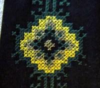 Длина галстука 27 см. На резиночке. Цвет - черный или темно-синий. Машинная в. Бровары, Киевская область. фото 5