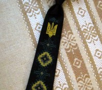 Детские вышитые галстуки. Бровари. фото 1