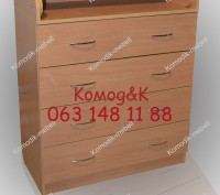 Комод-пеленатор 5 шухляд Бук. Сумы. фото 1