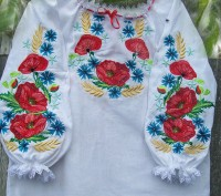 Красивая вышиваночка ткань хлопок можно с юбкой, могу пошить под заказ любого ра. Житомир, Житомирская область. фото 5